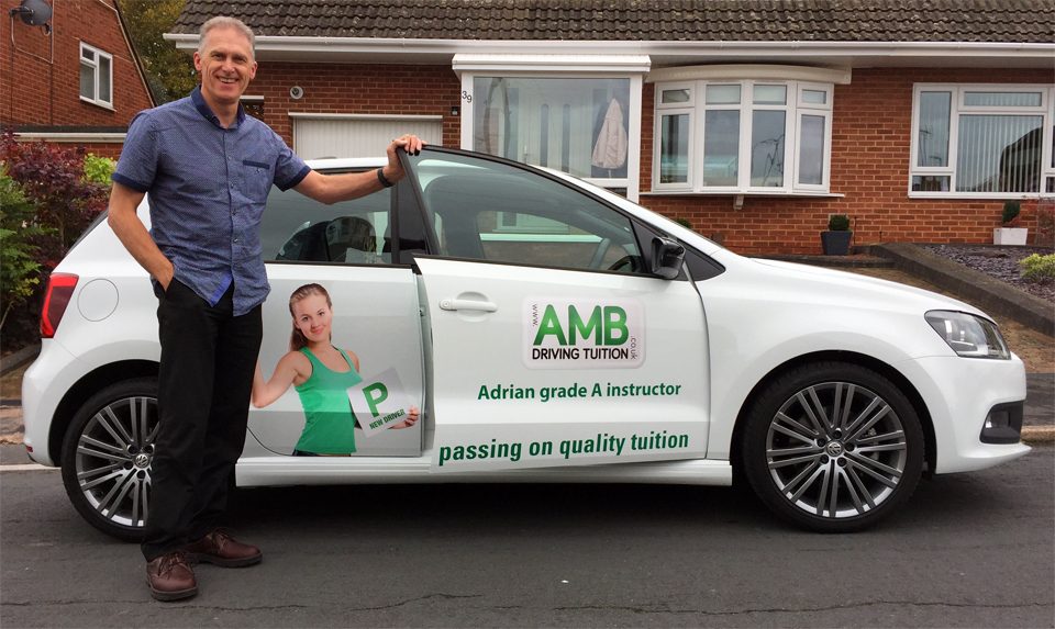 Adrian Burrows Grade A Driving Instructor for Driving Lessons in Exeter, Devon