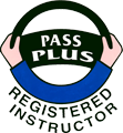 Pass Plus registered instructor logo